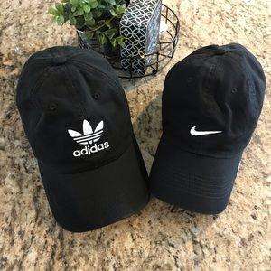 Adidas Originals and Nike strapback hats